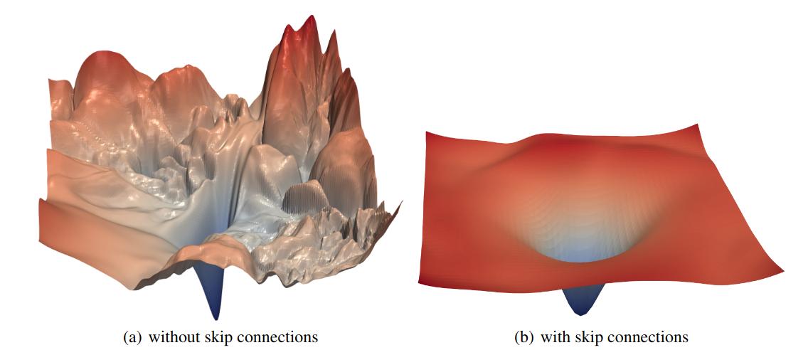 ResNet loss landscape (Source: https://arxiv.org/pdf/1712.09913.pdf)